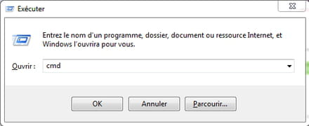 Invite De Commande Cmd Sous Windows 10 8 Et 7