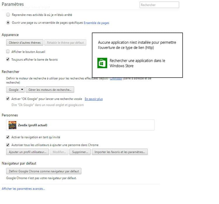 Impossible De Definir Google Chrome Par Defaut Resolu