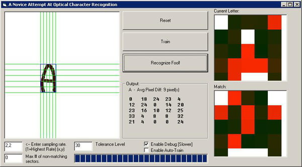 Visual Basic Vb Net Ocr Optical Charater Recognition