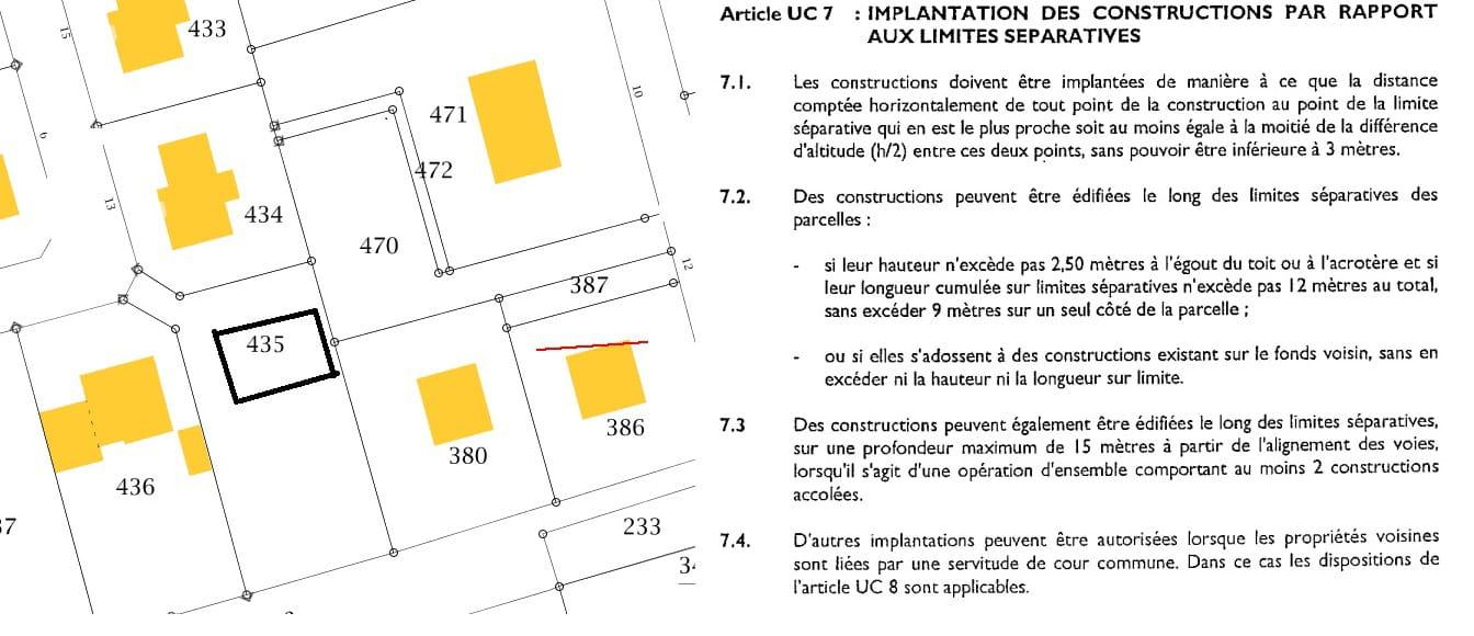 Construction qui ne respecte pas r gle d 39 urbanisme forum voisinage - Regles de construction en limite de propriete ...