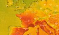Canicule : les vagues de chaleur en direct sur la carte interactive Windy