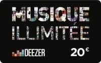 Deezer lance sa propre carte musique illimitée