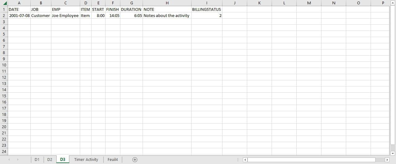 Feuille Excel Dynamique ( qui se modifie) - Comment Ça Marche