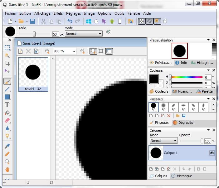 Comment cr er une icone r solu - Comment mettre icone sur bureau ...