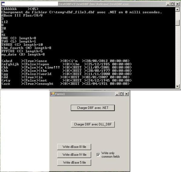 visual basic    vb net   lire et g u00e9n u00e9rer un fichier dbase