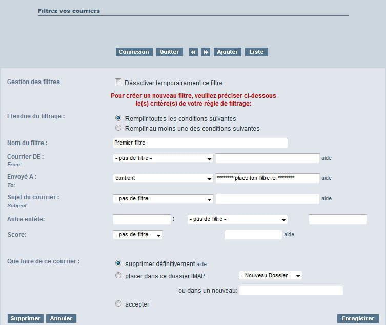 comment supprimer un compte mail sur free