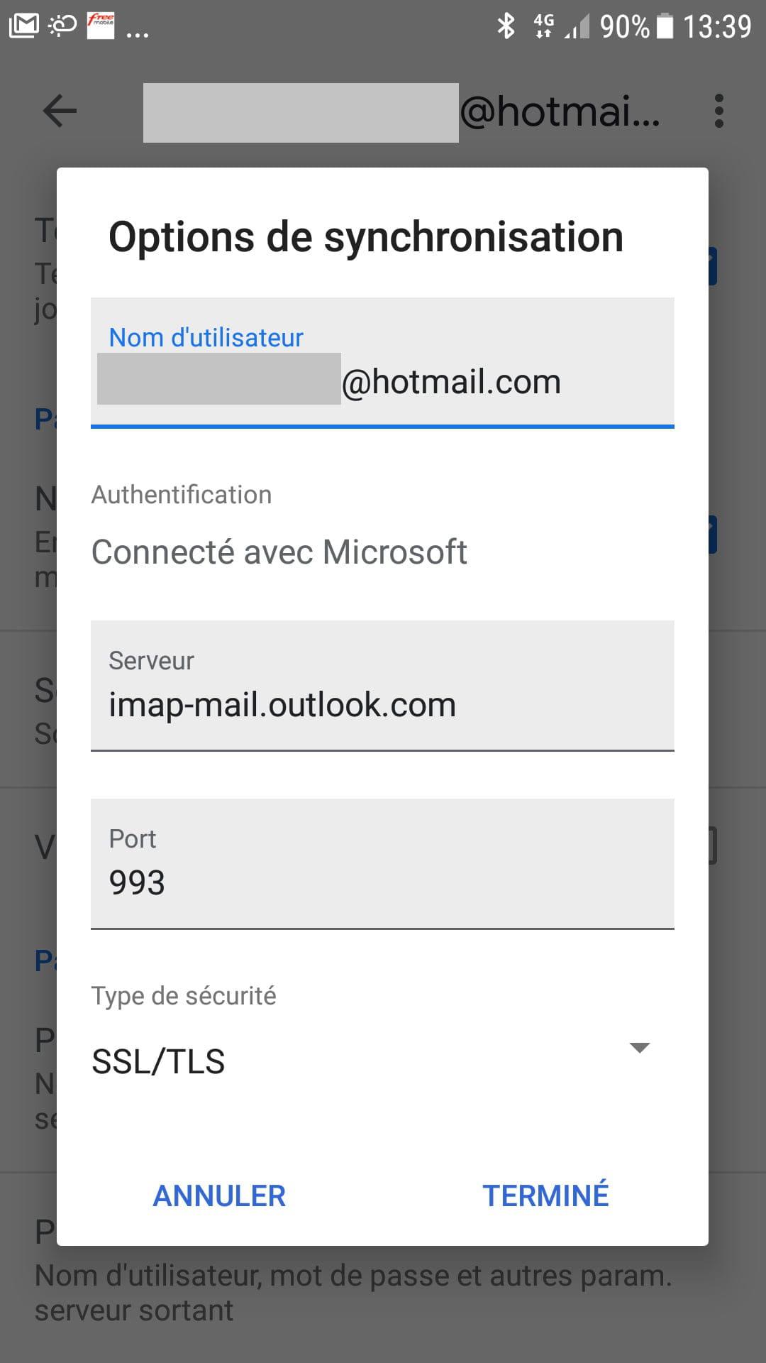 hotmail.com se connecter