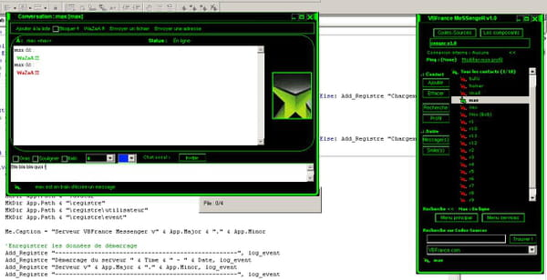Messenger source code vb net