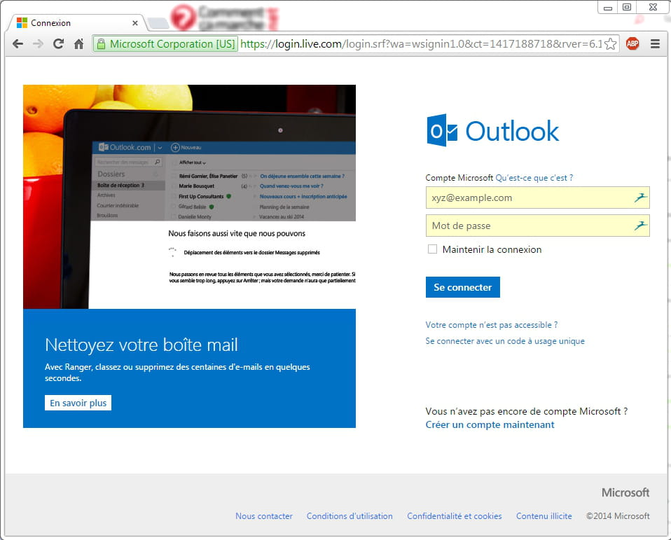 Creer Une Adresse Outlook Ex Hotmail