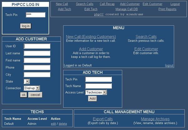 php application de call center codes sources. Black Bedroom Furniture Sets. Home Design Ideas