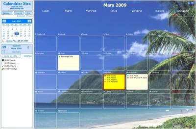 T l charger calendrier xtra gratuit - Bureau virtuel windows 7 ...