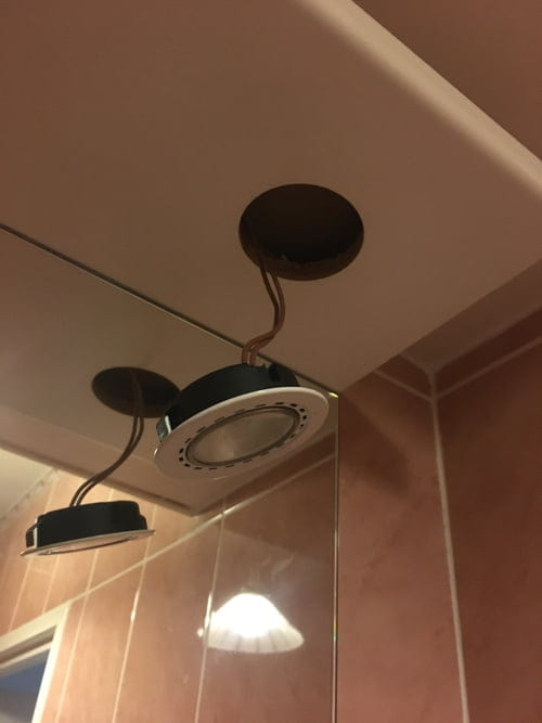 Changer ampoule spot encastrable