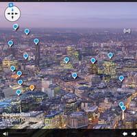 Un panorama interactif de Londres à 360°