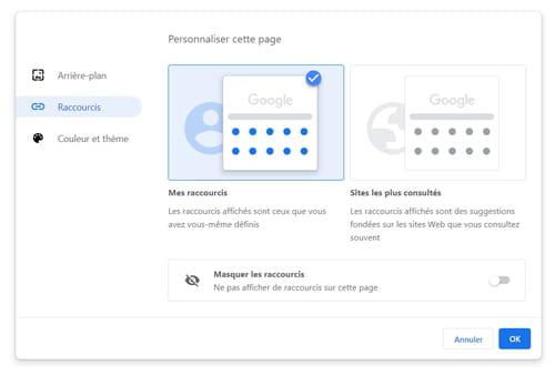 Personnaliser l'apparence de Chrome avec des fonctions cachées PRAT06
