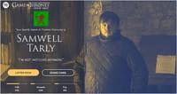Des sites inspirés de l'univers de Game of Thrones
