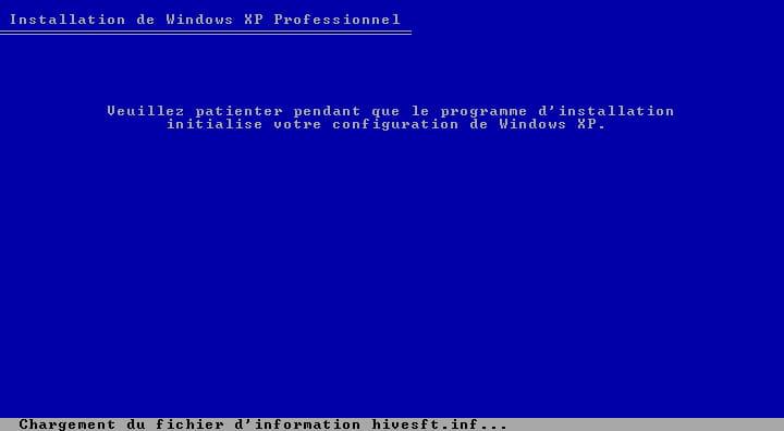 formater windows xp professionnel