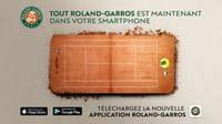 Tout Roland-Garros dans une seule appli !