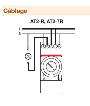 Branchement Horloge Analogique Abb At2 Résolu