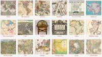 Redécouvrir des images et des cartes anciennes du monde