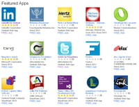 Microsoft lance une boutique d'applications pour Office 2013