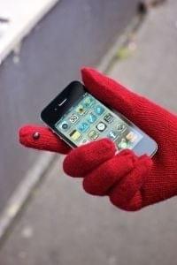 La solution pour utiliser son smartphone même en hiver avec des gants