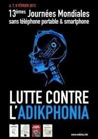 L'addiction aux smartphones au coeur des Journées mondiales sans téléphone portable