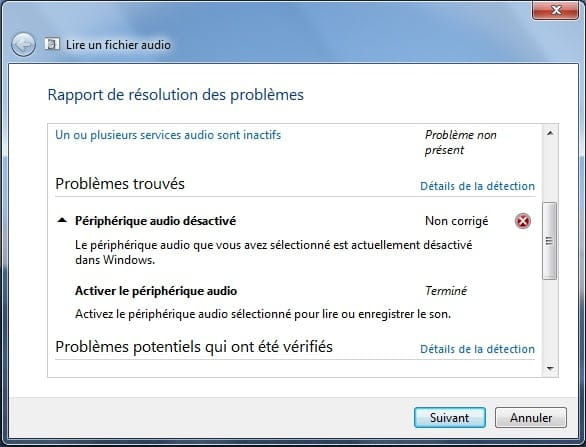 """Aucun <b>périphérique</b> <b>de</b> <b>sortie</b> <b>audio</b> <b>installé</b>"" lenovo ..."