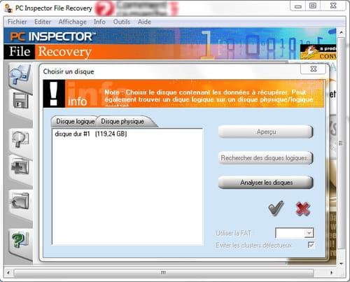 EaseUS Data Recovery Wizard, un logiciel effectif et facile à utiliser de récupération de données après le formatage, la suppression pour plus de 500 types de fichiers peut récupérer les disques corrompus, partitions en RAW ou d'autres pertes de données.
