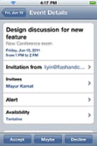 Google Sync pour iPhone et iPad : trois mises à jour importantes