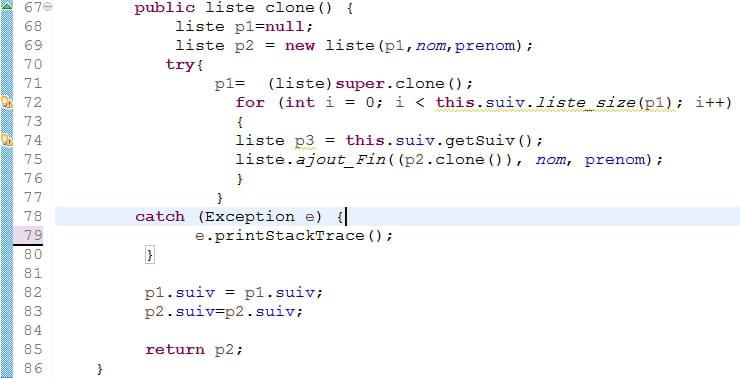 internal exception: java.lang.nullpointerexception