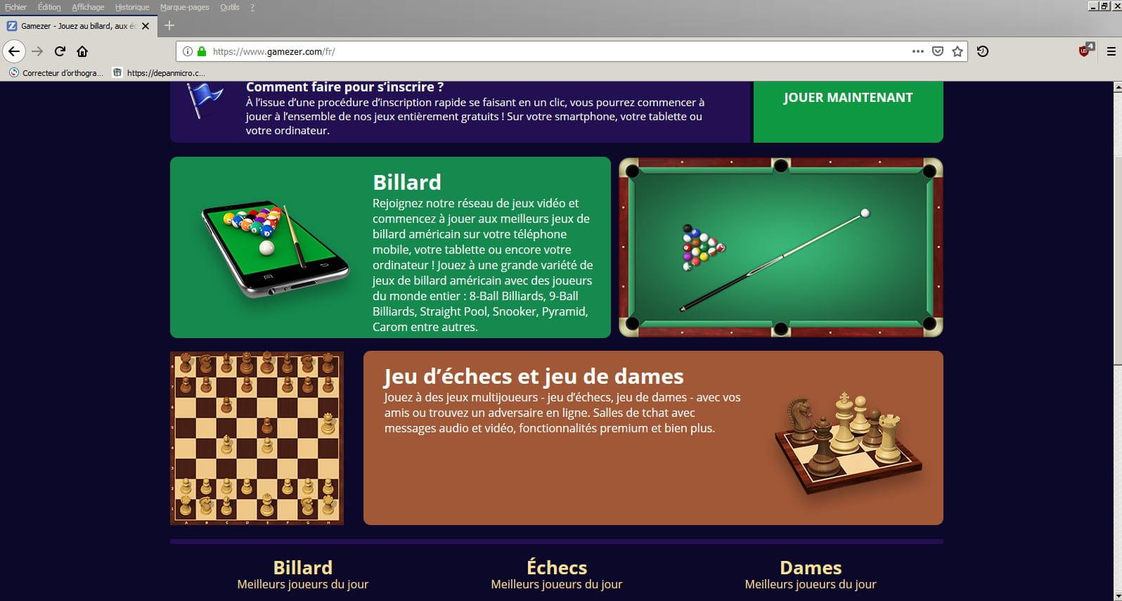 PC GRATUIT TÉLÉCHARGER GAMEZER BILLARD