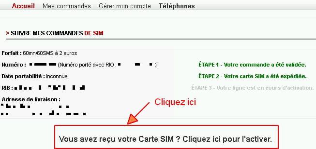 free mobile 2 euros mon compte