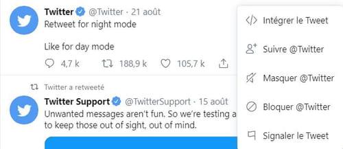 Bloquer et débloquer un utilisateur sur Twitter Bloquer_tweet