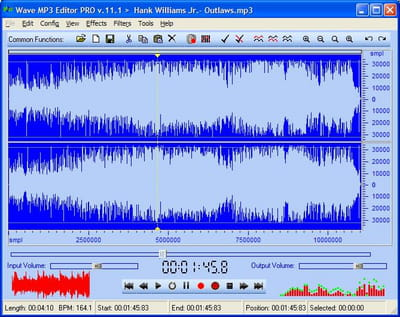T l charger wave mp3 editor pro gratuit - Comment couper un fichier mp3 ...