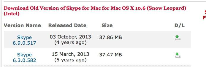 SKYPE MAC 10.6.8 TÉLÉCHARGER
