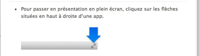 R tablir la page de mon mac r solu forum macos for Plein ecran photo mac