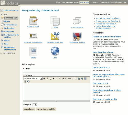 cr?er une page web avec free