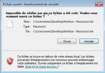 Fenetre de s curit s 39 ouvre l 39 ouverture des logiciels for Fenetre qui s ouvre pas