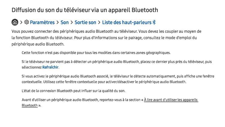 Activer Le Bluetooth Sur Smart Tv Samsung Resolu