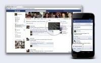 Facebook comptait fin juin 955 millions de visiteurs actifs