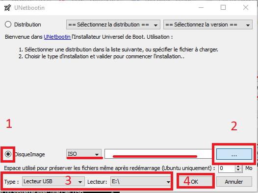 cle usb bootable windows 10 sous ubuntu