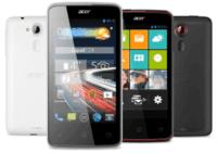 Acer présente les smartphones Liquid E3 et Z4
