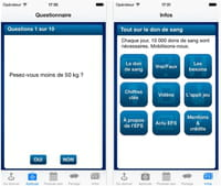 Applications et carte interactive : tout savoir sur le don du sang