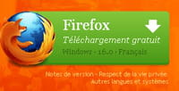 Le téléchargement de Firefox 16 temporairement suspendu
