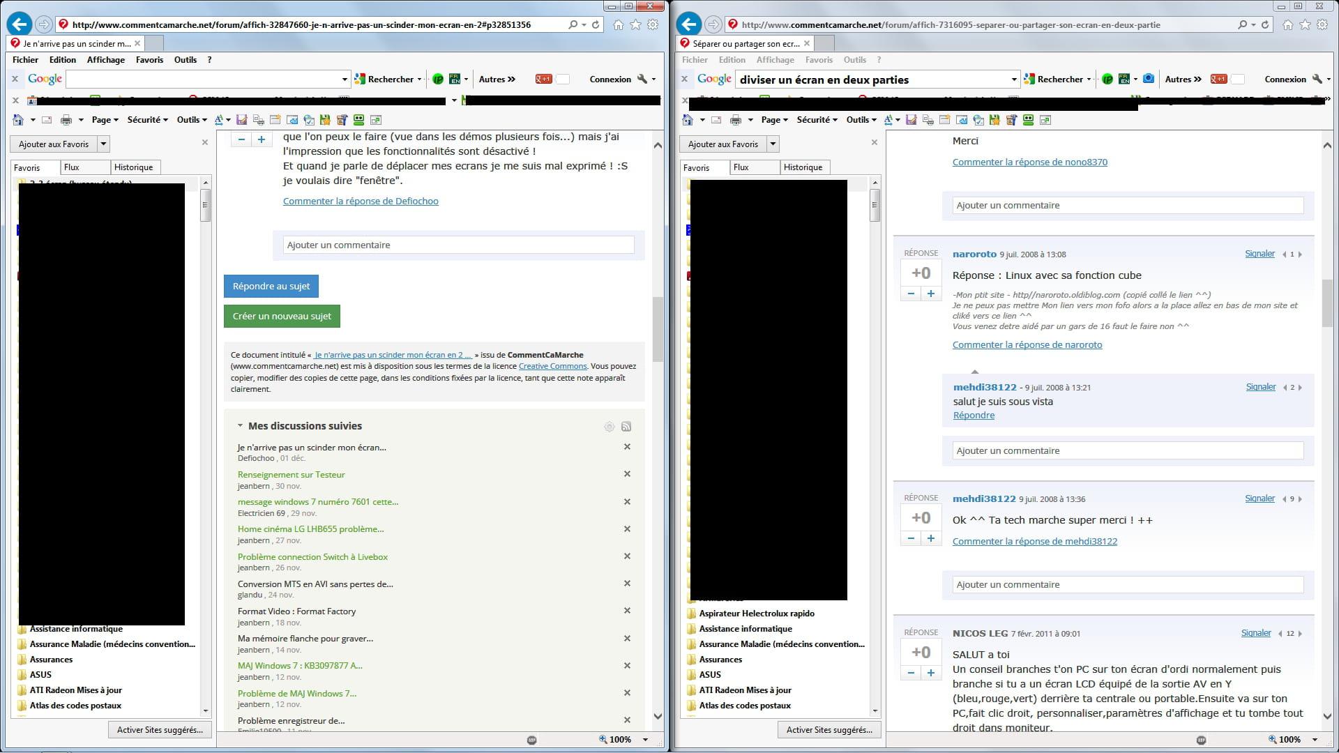 Windows & Software Win 10 Comment diviser l'écran en 2 comme sur win8/8.1 ? Sujets relatifs ; Mauvaise résolution native/écran zoomé: écran noir au démarrage: Nettoyage d'un Win 8.1 qui galère un peu [WIN 8.1] Ecran noir après ouverture session, p ...
