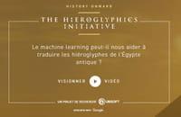 The Hieroglyphics Initiative : machine learning et open source pour traduire des hiéroglyphes