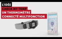 Découvrez Check-my-temp : le thermomètre connecté multifonction