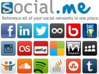 Social.me, une carte de visite de votre présence en ligne