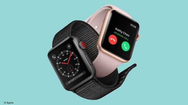 Le succès de l'Apple Watch