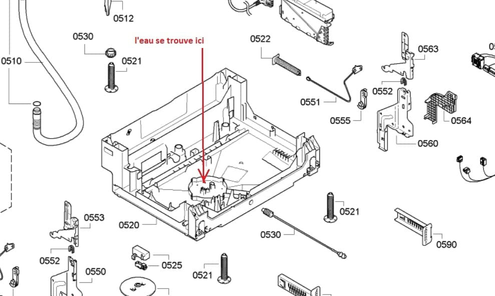 Problème De Fuite Avec Le Code E15 Sur Lave Vaisselle Siemens Résolu
